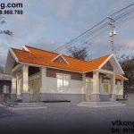 Mẫu thiết kế biệt thự vườn 1 tầng hiện đại 8x15m tại Hà Nam BT1T5