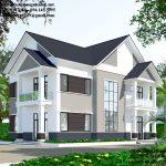 Mẫu nhà 2 tầng kiểu thái tại Đông Anh Hà Nội BT2T2