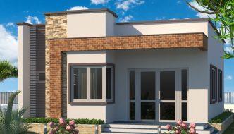 Thiết kế nhà cấp 4 đẹp ở nông thôn NC41