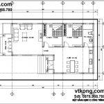 Bản thiết kế nhà 1 tầng đẹp 8.5x16m tại Kiến Xương - Thái Bình BT1T10