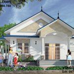 Thiết kế mẫu nhà thái 1 tầng đẹp 10x18m tại Quỳnh Phụ Thái Bình BT1T7