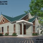 Thiết kế mẫu biệt thự 1 tầng 7.5x12m tại Hà Tĩnh BT1T11