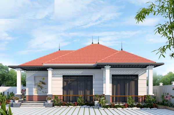 Nhà cấp 4 mái bằng: Cấu tạo chi tiết nhà mái bằng 3