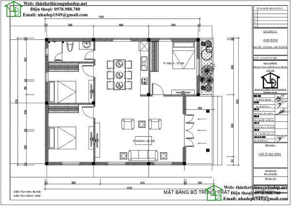 biệt thự vườn 1 tầng kiểu pháp 5