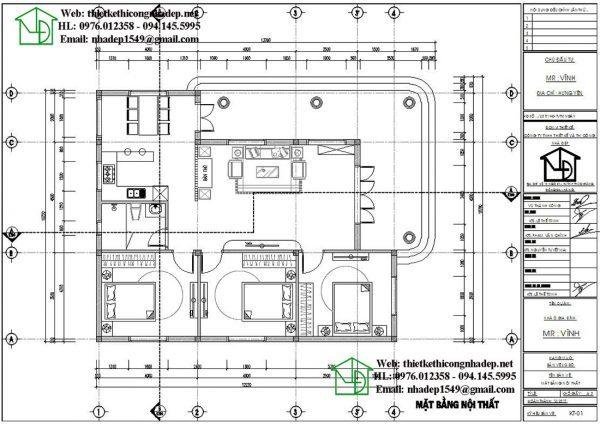 mẫu nhà cấp 4 12x10m 5