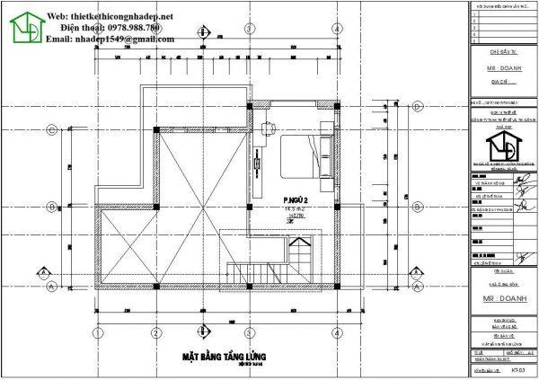 mẫu nhà cấp 4 9x10m 9