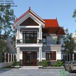 Biệt thự 2 tầng 11x11m mái thái sang trọng tại Thái Bình BT2T12