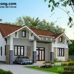 Mẫu thiết kế biệt thự 1 tầng đẹp ở Quỳnh Phụ- Thái Bình BT1T30