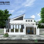 Thiết kế mẫu nhà vườn 1 tầng đẹp 9x14m BT1T31