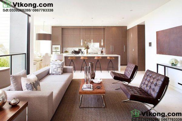 Nội thất phòng khách và phòng bếp BT3T2