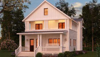 Thiết kế biệt thự 2 tầng mái thái đẹp BT2T14