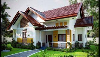 Thiết kế biệt thự nhà vườn 1 tầng BT1T26