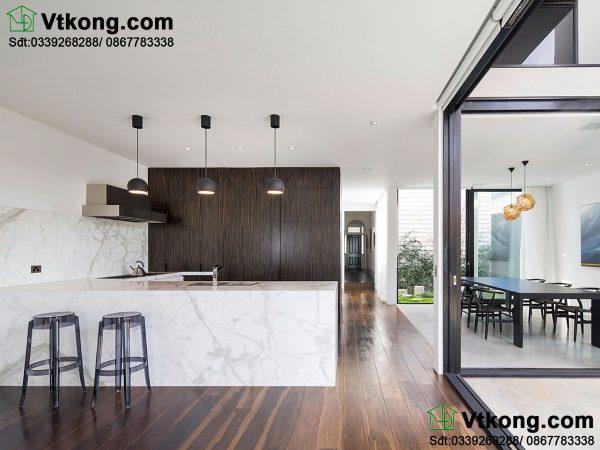 Thiết kế nội thất phòng bếp đẹp BT2T18