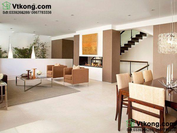 Thiết kế nội thất phòng khách BT3T2