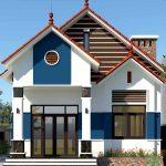 Tư vấn thiết kế nhà cấp 4 nông thôn đơn giản mái thái đẹp NC441