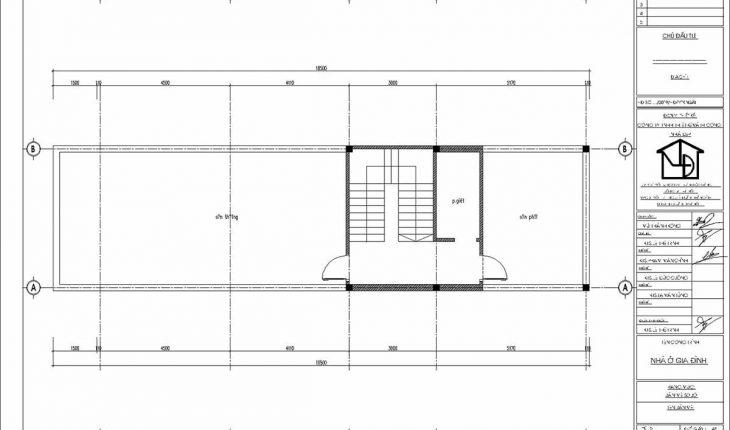 Thiết kế mẫu nhà ống 3 tầng 5x17m 3 phòng ngủ hiện đại NP3T02 1