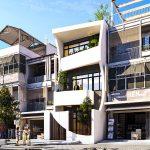 Ngắm nhìn mẫu nhà phố 3 tầng độc đáo nhất 2019 NP3T03