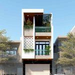 Thiết kế nhà phố 3 tầng 4.5x18m hiện đại với không gian xanh mát NP3T04