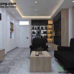 Thiết kế nội thất chung cư hiện đại tại phòng khách và phòng ngủ
