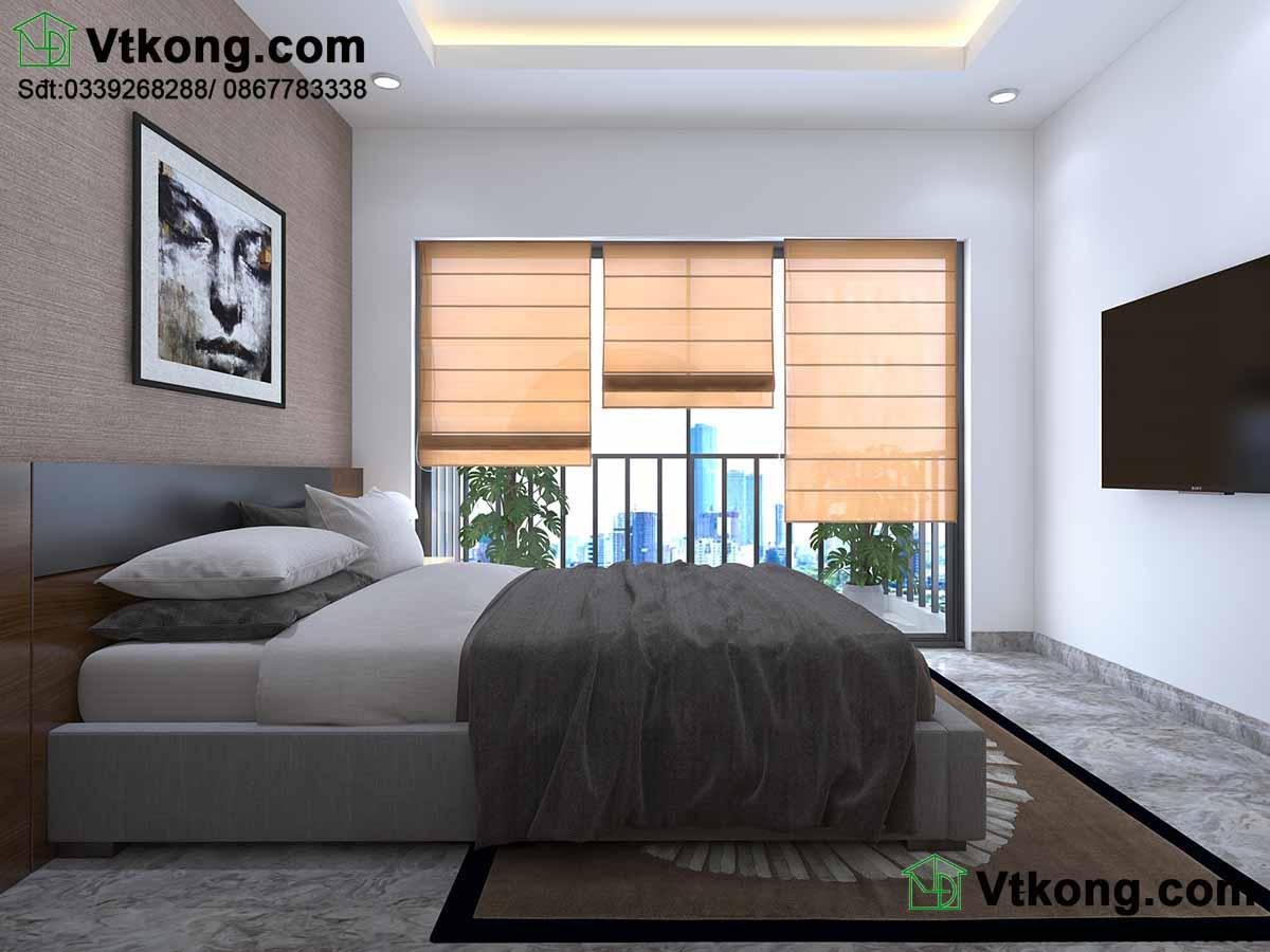 Tận dụng ánh sáng tự nhiên nhờ thiết kế cửa rộng.