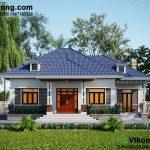 Biệt thự vườn 1 tầng 10x15m giá 900 triệu tại Hà Nội BT1T56