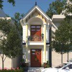 Nhà phố 2 tầng 4x13 thiết kế độc đáo tại Hưng Yên NP2T2