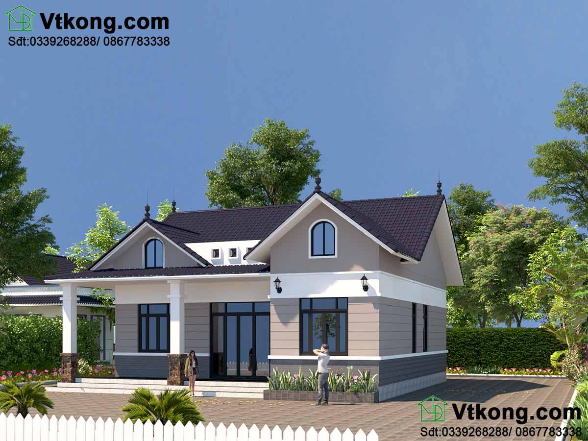 Nhà mái thái 1 tầng giá 700 triệu tại Thanh Hóa BT1T69