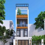 Nhà phố 3 tầng 4x12 có tum tại Hà Nội NP3T10