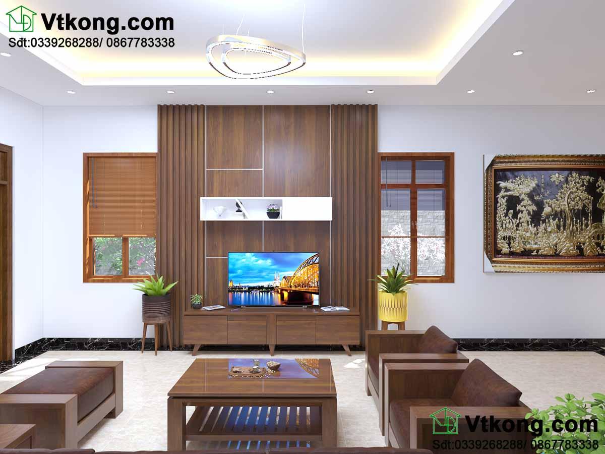 Thiết kế nội thất biệt thự đẹp cho phòng khách.