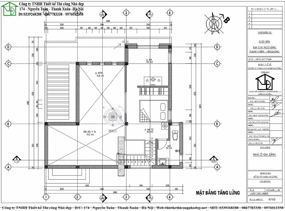 Mặt bằng và công năng sử dụng của tầng lửng nhà cấp 4 phá cách