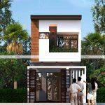 Tư vấn thiết kế mẫu nhà phố 2 tầng 5x13m đẹp giá rẻ