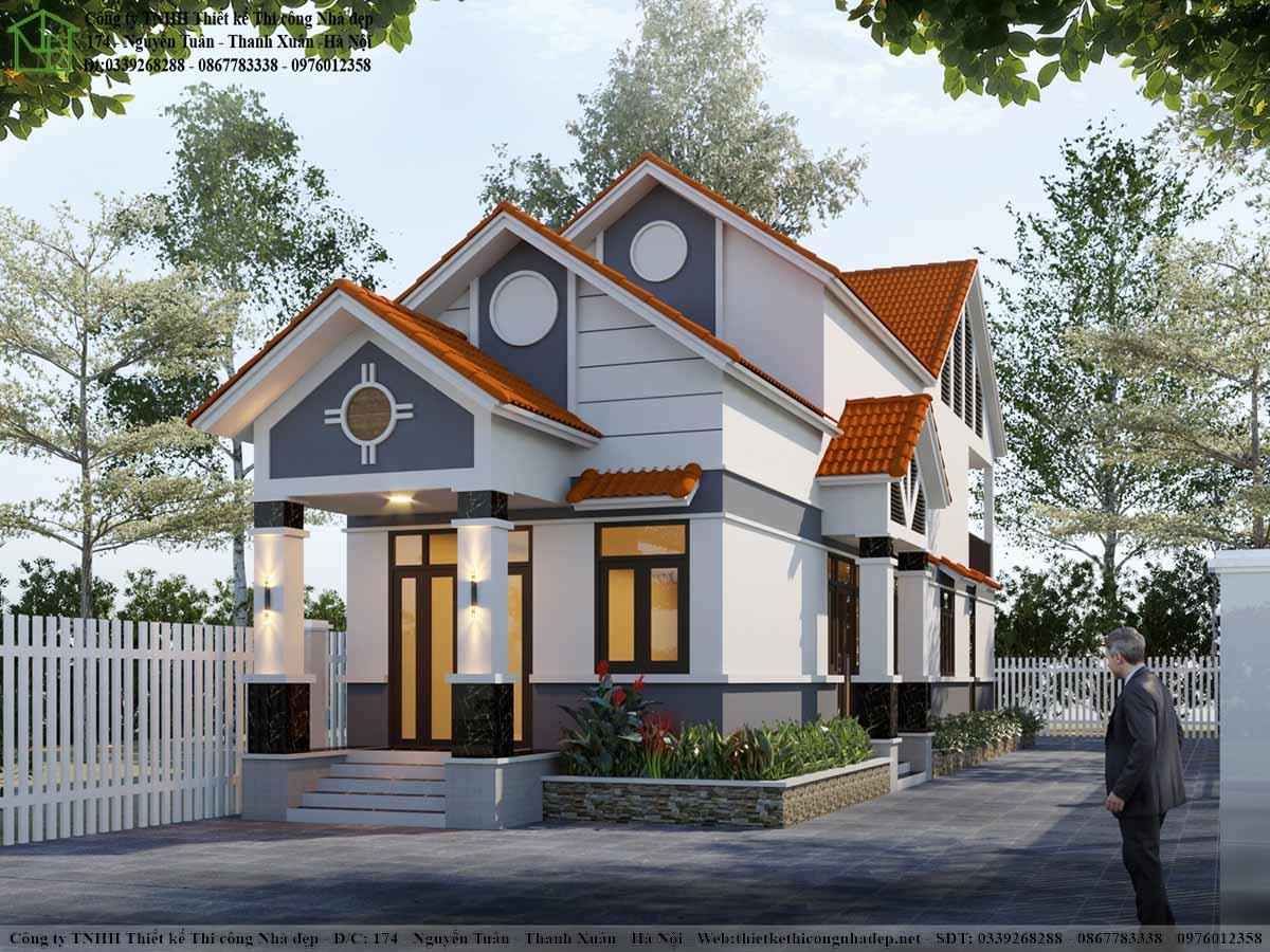 Căn nhà hiện đại phá cách khỏi phong cách truyền thống