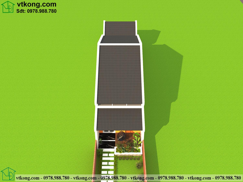 Nhà Cấp 4 Mái Ngói 5x20m Giá 700 Triệu Tại Thanh Hóa Nc479