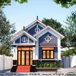 Thiết kế nhà cấp 4 mái thái 7x14m  tại Vĩnh Phúc NC471