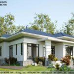 Nhà cấp 4 mái nhật 11x13m tại Hà Nam NC489
