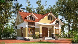 Nhà Cấp 4 Mái Thái 12x10m Tại Bắc Giang Nc490