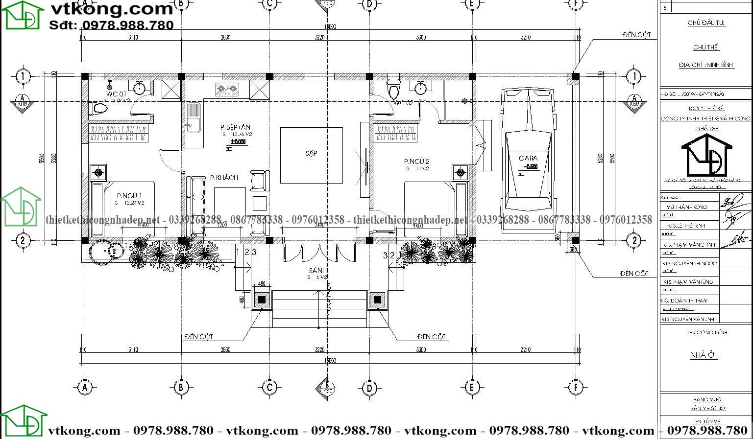 Nhà Ngang Cấp 4 13x7m Tại Hòa Bình Nc4113