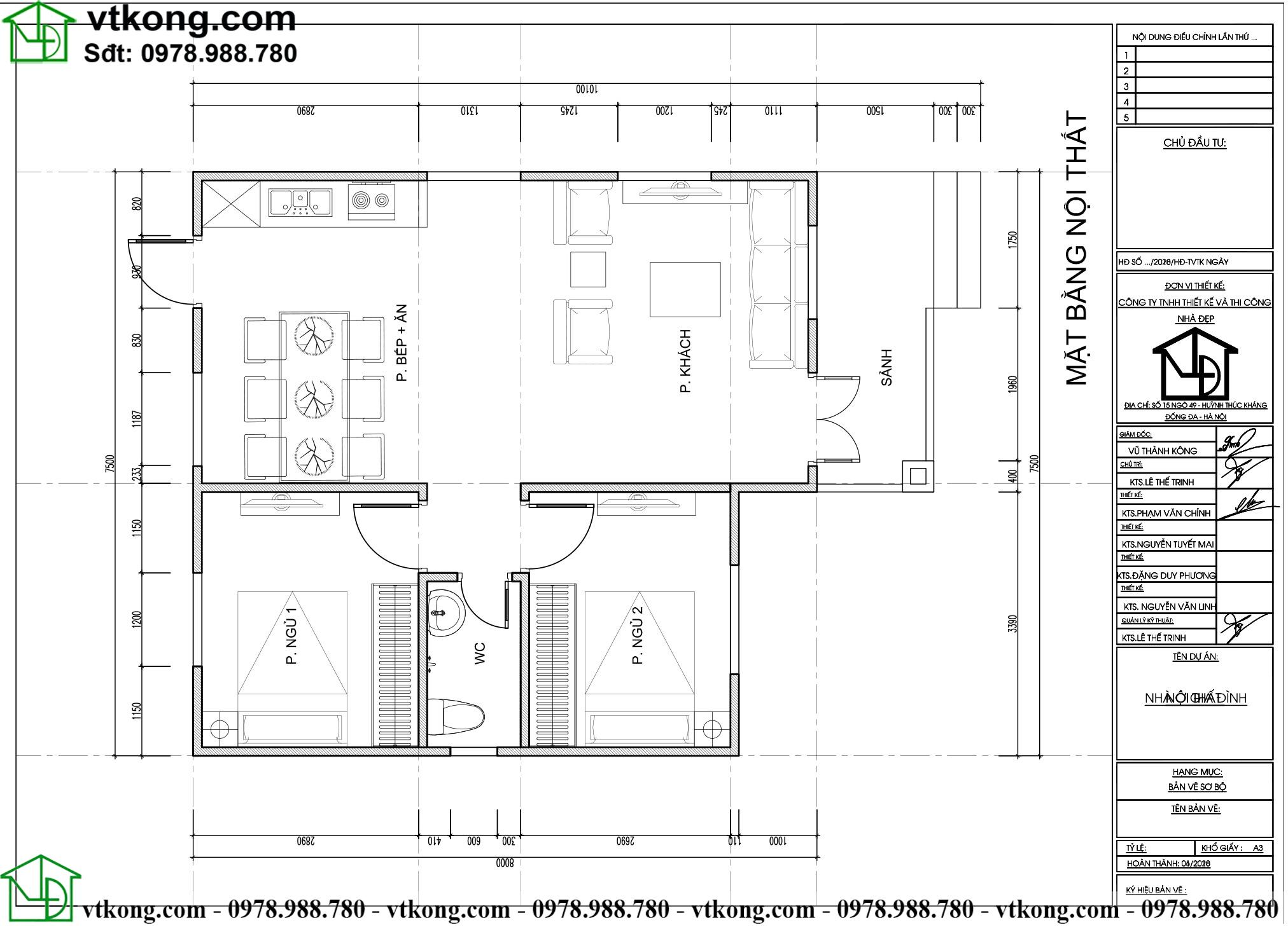Nhà Cấp 4 2 Phòng Ngủ 7x8m Tại Hòa Bình Nc4108