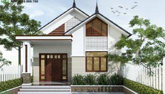 Nhà Cấp 4 2 Phòng Ngủ 8x12m Tại Tiền Giang Nc4102