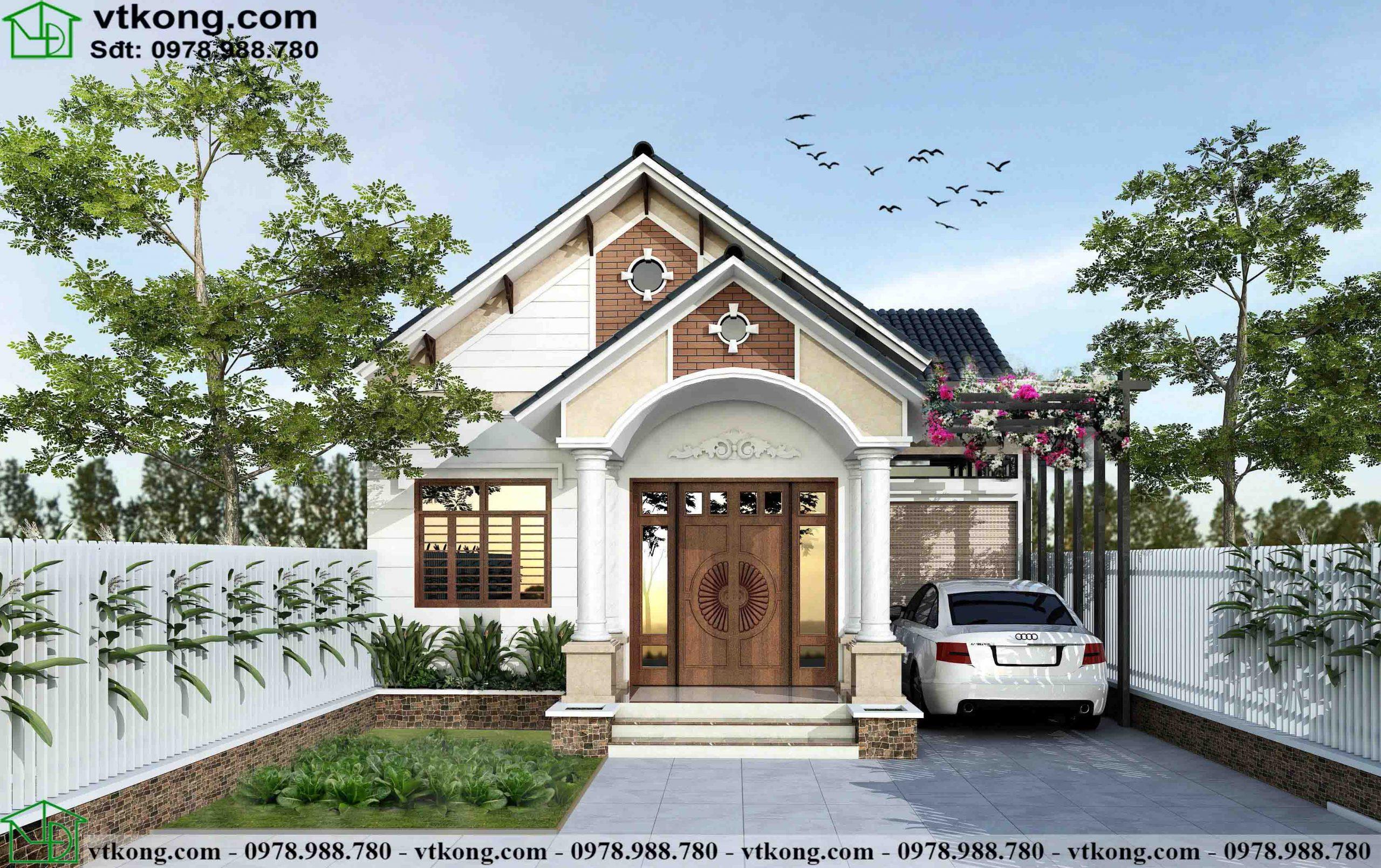Nhà Cấp 4 Chữ L 9x13m Tại Lạng Sơn Nc4107
