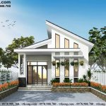 Nhà cấp 4 mái lệch 3 phòng ngủ 7x13m tại Vĩnh Phúc NC4109