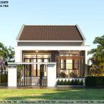 Nhà cấp 4 mái thái 9x14m tại Hà Nam NC4117