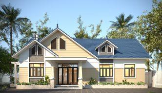 Nhà Ngang Cấp 4 18x8m Tại Hà Nam Nc4106