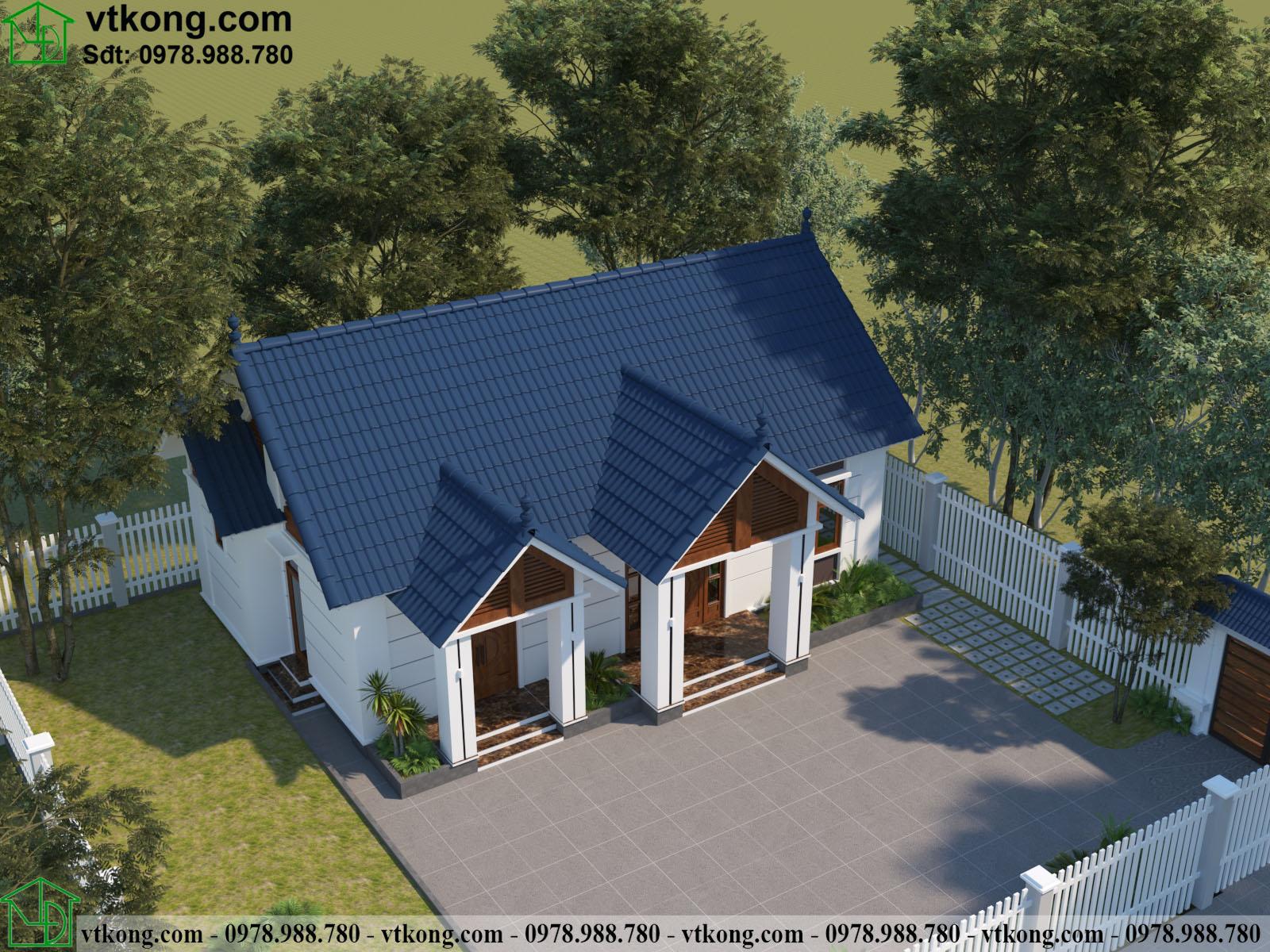 Nhà Cấp 4 3 Gian 13x11m Tại Hải Phòng Nc4119