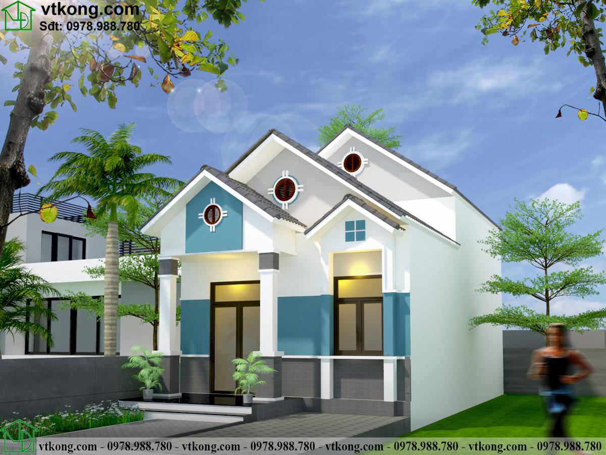 Nhà Cấp 4 Có Gác Lửng 5x16m Tại Nam Định Nc4123