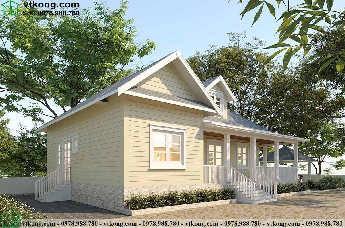 Nhà Cấp 4 Mái Thái 3 Phòng Ngủ 15x11m Tại Ninh Bình N