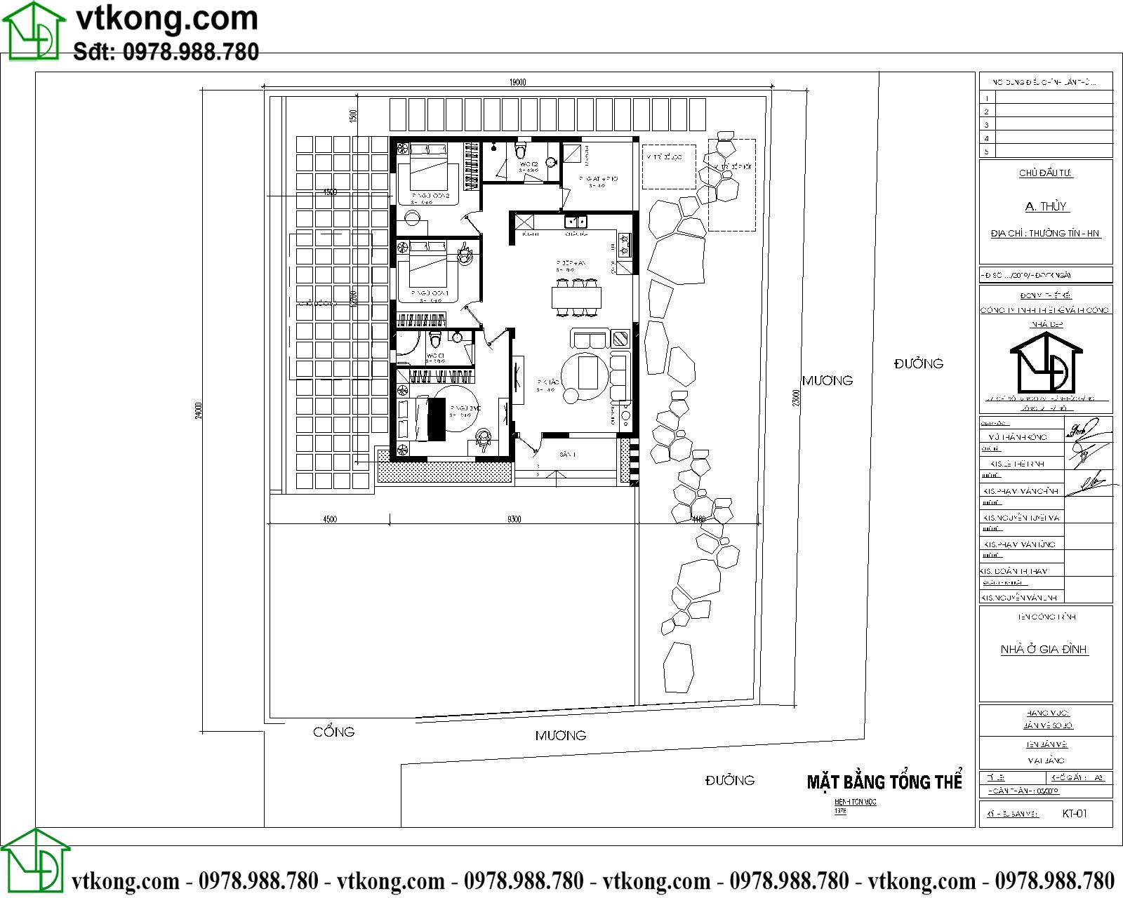 Nhà Cấp 4 Mái Nhật 9x12m Tại Cao Bằng Nc4125