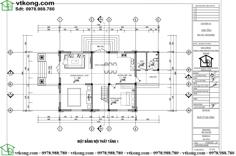 Mẫu biệt thự tân cổ điển 3 tầng mặt tiền 8m diện tích 330m2 sang trọng BT3T007 2