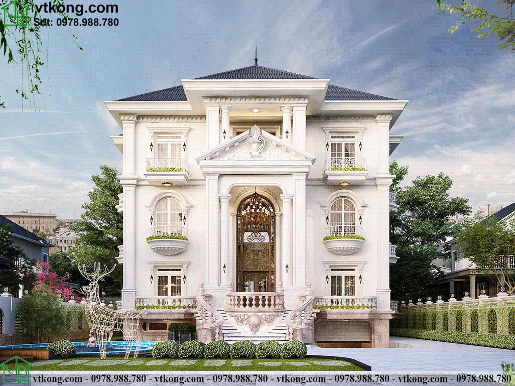Phong cách thiết kế kiến trúc tân cổ điển