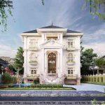 Thiết kế biệt thự 3 tầng tân cổ điển 15x15m BT3T011